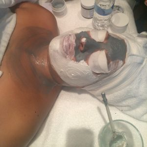 Skin Deep, Facial, Salon, clay mask